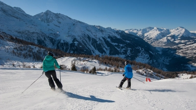 Crowd Free Skiing in Sainte Foy