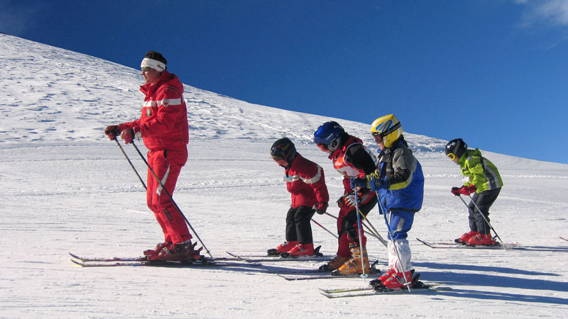 Ski School in Sainte Foy