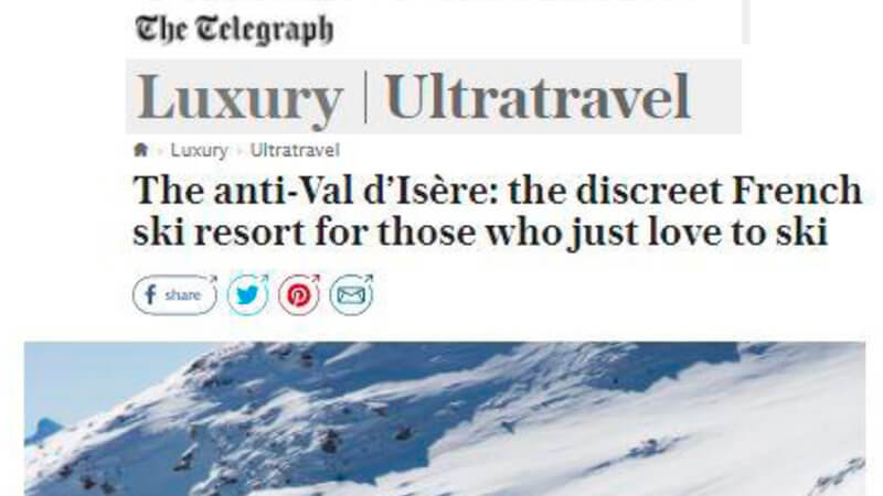 The Telegraph Destinations Review of luxury chalet The Peak